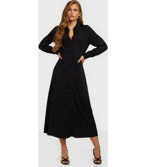 object collectors item objbaya l/s long shirt dress noos maxiklänningar