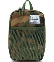 men's herschel supply co. large sinclair crossbody bag - green
