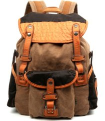 tsd brand tapa canvas backpack