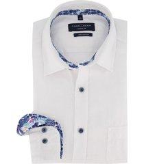 casa moda overhemd wit casual fit