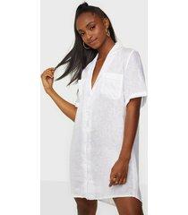 faithfull the brand caldera shirt dress loose fit dresses