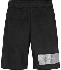 givenchy givenchy logo shorts