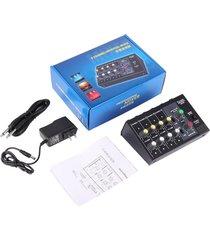 ew la consola de mezcla digital de 8 canales de karaoke mezclador universal mono/estéreo