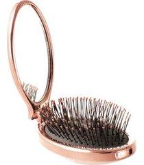 escova de cabelo wetbrush - portátil com espelho