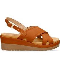 sandalias de plataforma camel bata xilurte r mujer