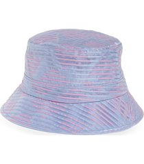women's eugenia kim beckett stripe organza bucket hat -
