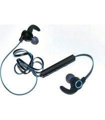 audífonos bluetooth, funcionamiento auriculares manos libres  deporte inalámbrico manos libres  estéreo en el oído estéreo de doble oreja teléfono para iphone samsung sony (azul)
