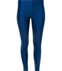 legging básico texturizado color azul, talla xs