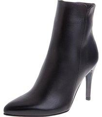 botines stivali malta cuero negro