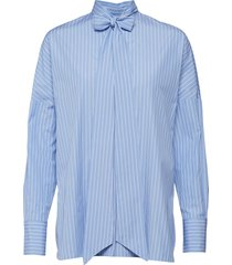 marus blouse lange mouwen blauw weekend max mara