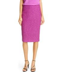 women's st. john collection belle du jour knit pencil skirt