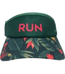 viseira running folhas - sportbr