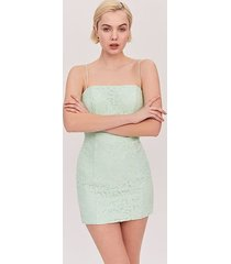 bright mint the max dress