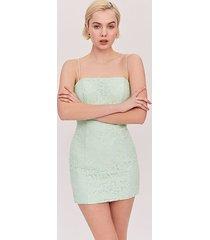bright mint the max dress