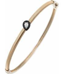 pear shape diamond feelings bracelet