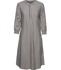 cunoor dress knälång klänning grå culture