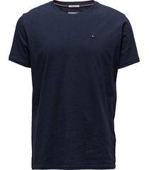 tjm original jersey tee t-shirts short-sleeved blå tommy jeans
