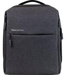 "14"" xiaomi impermeable mochila simple bolsa de ordenador portátil"