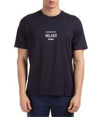 men's short sleeve t-shirt crew neckline jumper comfort fit