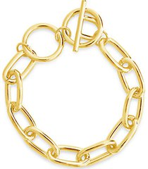 linked toggle bracelet