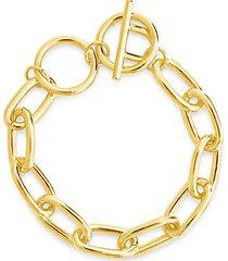 linked toggle bracelet