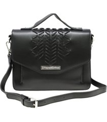 catherine malandrino alice flap satchel