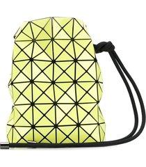 bao bao issey miyake prism clutch bag - yellow