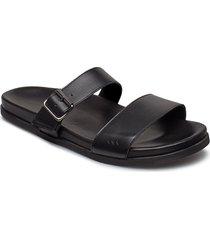 route buckle slipper shoes summer shoes sandals svart royal republiq