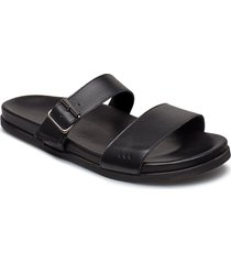 route buckle slipper shoes summer shoes sandals svart royal republiq
