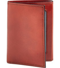 men's bosca 'old leather' trifold wallet - brown