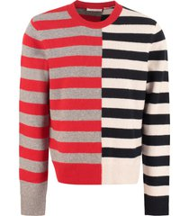 helmut lang wool blend pullover