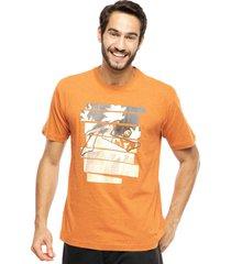 camiseta rusty plam tree laranja - laranja - masculino - dafiti