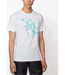 boss men's tee 3 white t-shirt