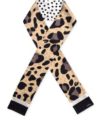 echo spotty silk tubular scarf
