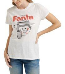 lucky brand fanta soda graphic t-shirt