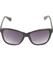 55mm angled square sunglasses