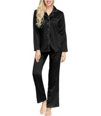 ink+ivy women's notch top and pant set