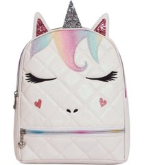 omg! accessories quilted miss gwen dome mini backpack