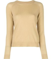 mila cashmere crew neck sweater