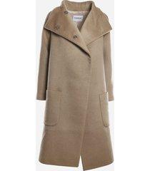 dondup coat made of wool blend