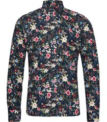 8537 - iver skjorta casual multi/mönstrad sand