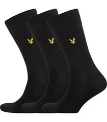 angus underwear socks regular socks svart lyle & scott