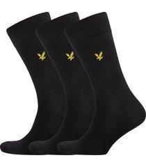 angus underwear socks regular socks svart lyle & scott