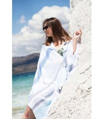ozan premium home ocean breeze pestemal beach towel bedding