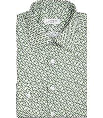 camicia da uomo su misura, canclini, seventies verde, quattro stagioni