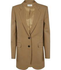 saint laurent oversize stripe patterned blazer