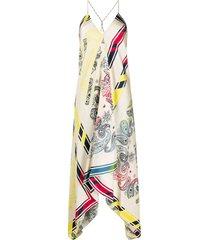 golden goose bandana print dress - neutrals