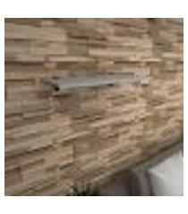 prateleira para sala mdf suporte tucano cor cinza 60(c)x30(p)cm modelo pratslc04