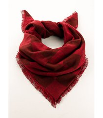 foulard a triangolo xxl (rosso) - bpc bonprix collection