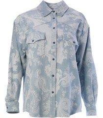 etro paisley printed jacket
